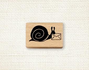 Rubber Stamp - Snail Express