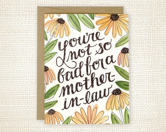Mother's Day Card - Mother-in-Law