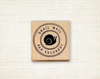 Rubber Stamp - Par Escargot