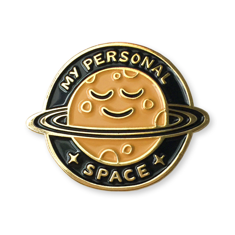 Enamel Pin Personal Space | Etsy