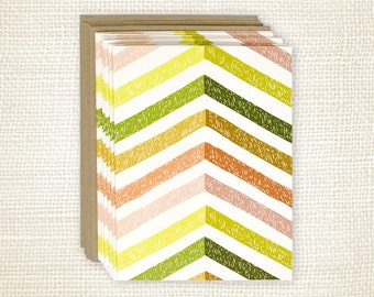 Boxed Card Set of 8 - Technicolor