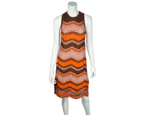 MISSONI  sport dress  small size  vintage Missoni  viscose mohair dress