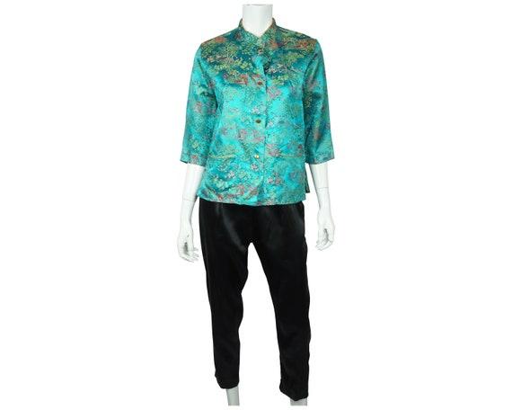 Vintage 1950s Hostess Pyjamas Beatrice Pines Asian
