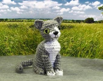 PATTERN - Crocheted Amigurumi Cat Pattern