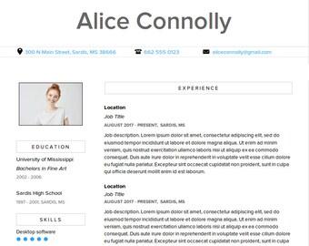 Resume Template -- Alice