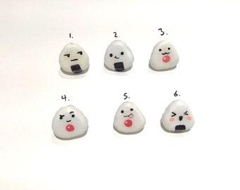 Onigiri (rice ball) pins