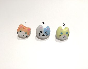 Cat head pins