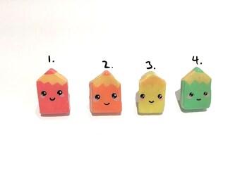 Crayon pin