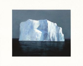 Massive Ice Wall - Archival Print