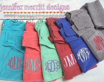 Comfort Color Long Sleeve Pocket t-shirts, Monogrammed Pocket Tshirt, Comfort Colors Long Sleeve, Long Sleeve Pocket Tee