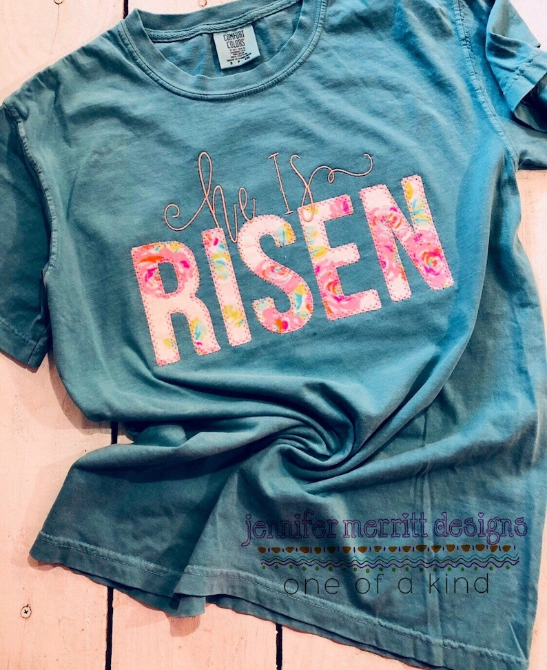 Easter Shirt for Women He Is Risen Shirt for Women