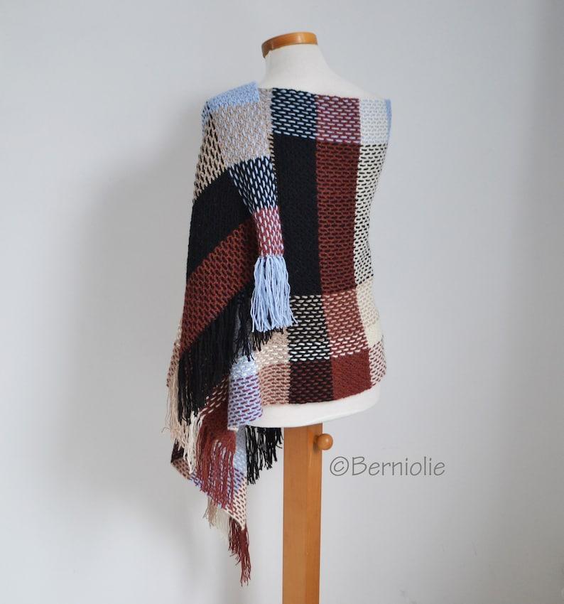 PENNY Crochet shawl pattern rectangle pdf image 0