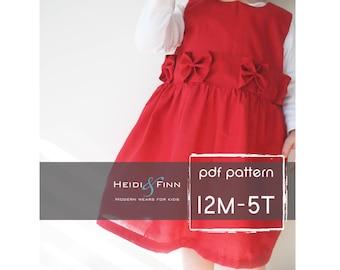 Perfekte Urlaub Kleid Muster und Tutorial 12M-5 t Ebook PDF