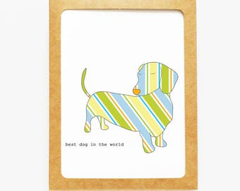 Dachshund Boxed Notes