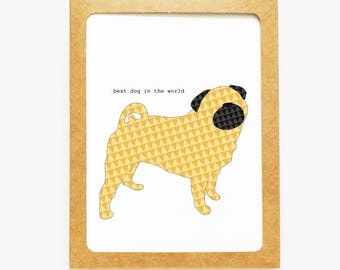 Pug Boxed Notes