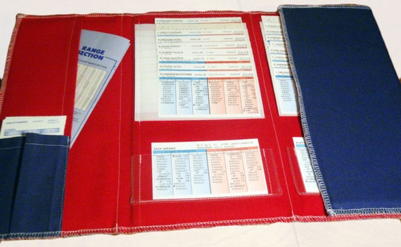 Strat O Matic Baseball Card Organizer Optional Custom Colors
