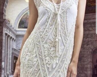 Wedding dress 1920s | Etsy