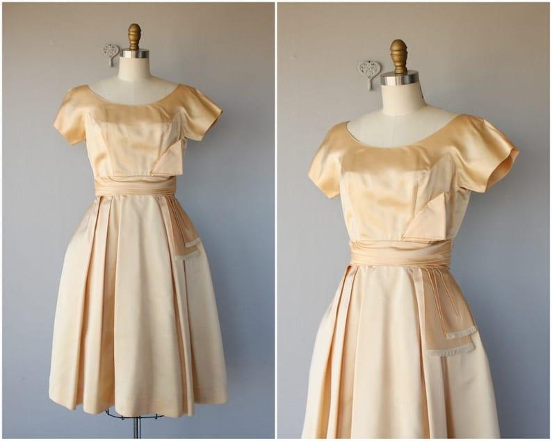 d920d1e9806 Vintage Prom Dress Vintage 1950s Dress 50s Dress 50s