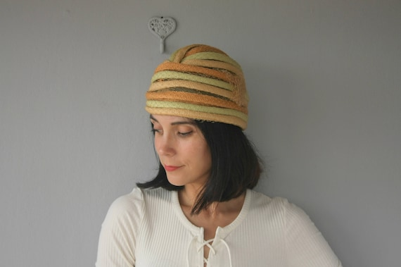 Vintage 1960s Christian Dior Turban | Christian D… - image 3