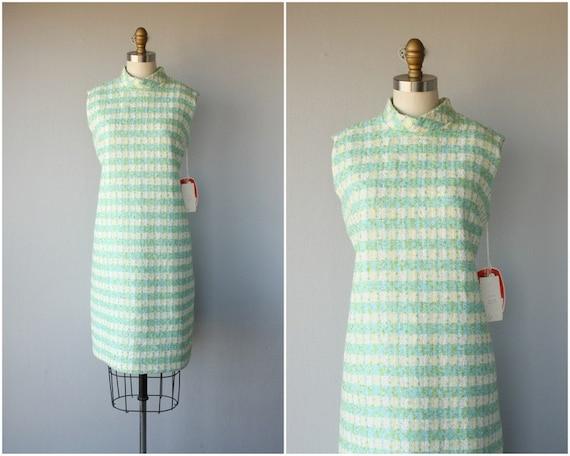 60s Pastel Dress | 1960s Dress | 60s Day Dress | P