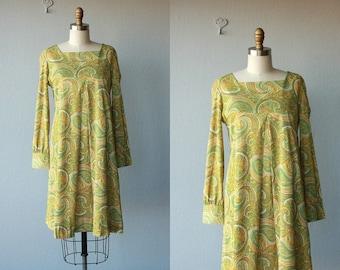 1960s Trapeze Dress | 60s Dress | 1960s Dress | 60s Swing Dress | Mod Dress - (small/medium)