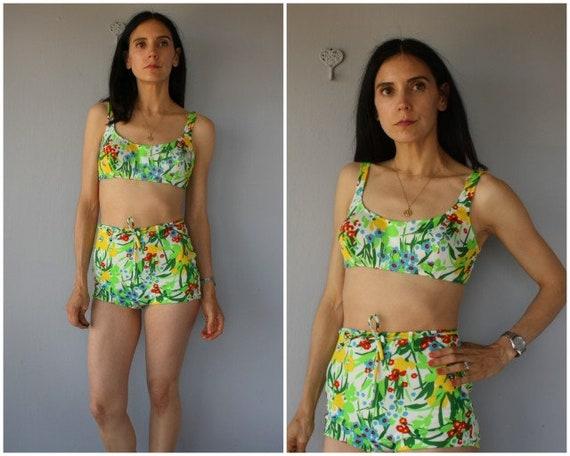 FREE SHIPPING! 60s Bikini • Vintage 1960s Bikini •