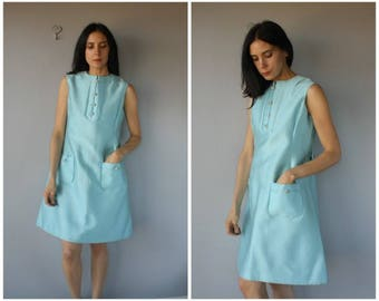 Vintage 1960s Dress • 60s Dress • 1960s Cocktail Dress •  60s Party Dress • 60s Mod Dress  • Pat Sandler Dress  - (medium/large)