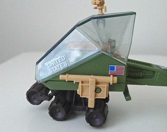 1980s GI Joe Toy, Vintage Hasbro GI Joe Collectible Vehicle, Military Father's Day Gift for Men, 1986 Gi Joe LCV Recon Sled