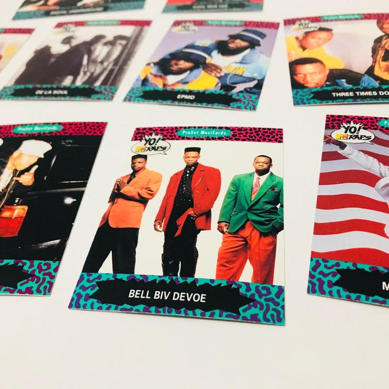 YO MTV Raps Trading Cards, 90s Hip Hop Rap Music Gifts for Men, Public  Enemy, Beastie Boys, De La Soul - 1 Unopened Pack