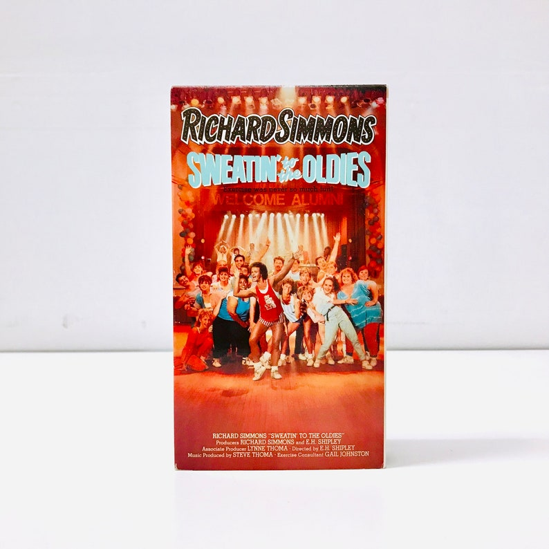 8449825b84 1980s Richard Simmons Sweatin  to the Oldies VHS Tape