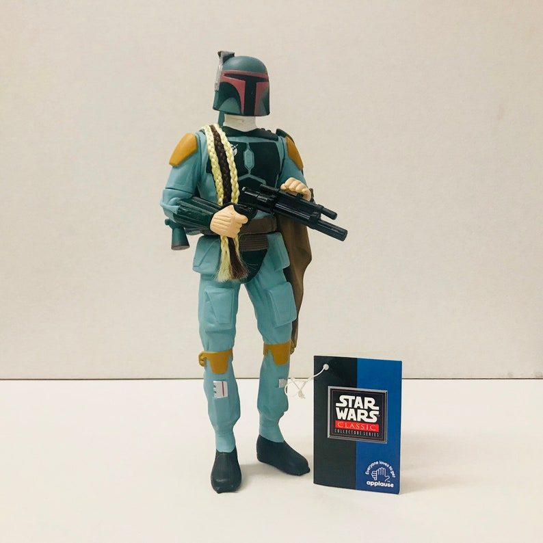 dbe1e8bc23 Star Wars Boba Fett Figurine with Rocket Backpack   Blaster