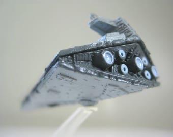 "Star Wars Imperial Star Destroyer, 3"" Micro Machines Miniature Spaceship, Vintage Starwars Gifts for Kids"