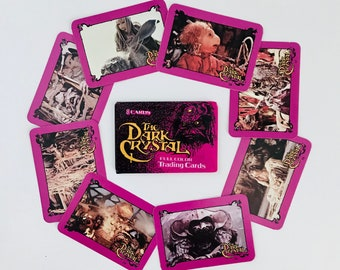 1980s Dark Crystal Trading Cards, Jim Henson Frank Oz Fantasy Movie Collectible, Jen, Kira, Skeksis - ONE UNOPENED PACK
