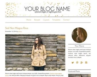 WordPress Blog Theme - Beauty WordPress Design - Blog Design - Blog Design and Installation - WordPress Template - Audrey