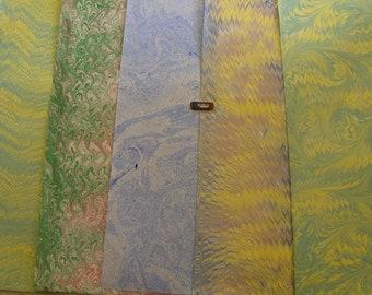 5   cm 50 X 70  hand marbled paper Italy papel marmolado papier marbr ebru    - B022