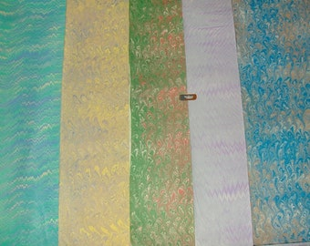 5    cm 50 X 70   Italy   hand  marbled paper carta marmorizzata  bookbinding hand marmor papier     - B019
