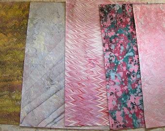 5  cm 50 X 70  Italy  hand  marbled paper carta marmorizzata  bookbinding legatoria   - A031