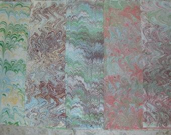 5/cm 50 X 70 Italia carta marmorizzata a mano, carta marmorizzata, papier marbrè, legatoria, legatoria, - A029