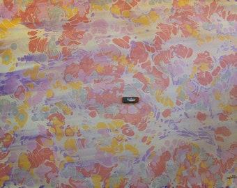 """marbling Carta di cotone Amatruda Amalfi SIGNED ,carta di cotone marmorizzata, cm 70 x 100 , 27,3"""" X 39"""" , dipinto a mano - FIRMATO P020"""