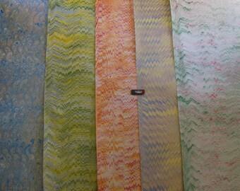 5 / cm 50 X 70 carta marmorizzata a mano, carta marmorizzata, --39,5 x 27,3 , legatoria, cartapesta marmor a mano - B020