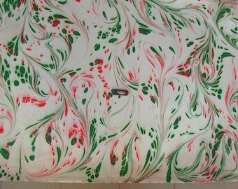 """marbling Carta di cotone Amatruda Amalfi SIGNED ,carta di cotone marmorizzata, cm 70 x 100 , 27,3"""" X 39"""" , dipinto a mano - P015 FIRMATO"""