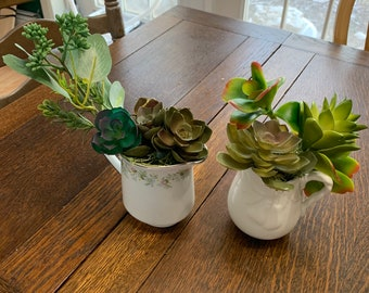Creamer Planters