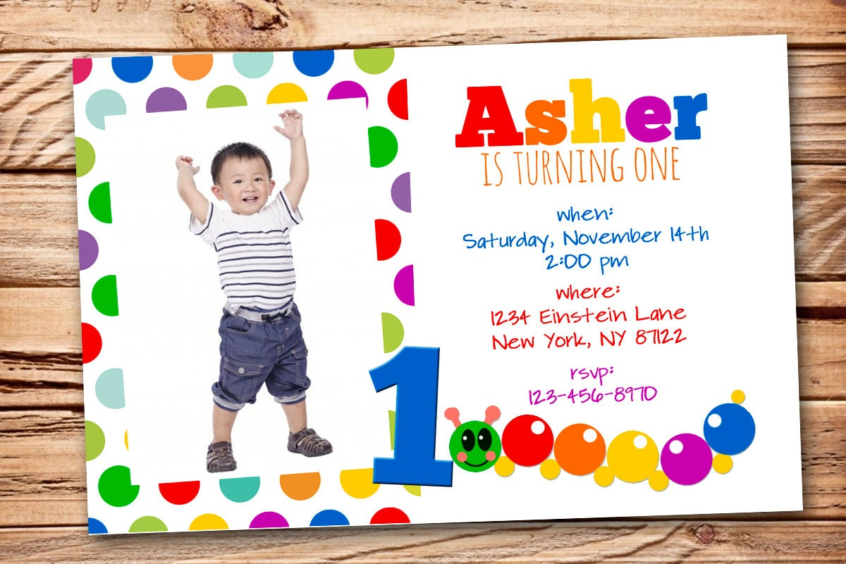 Baby Einstein Birthday Invitation | Etsy