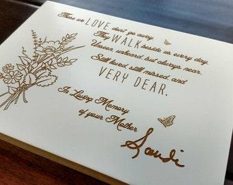 Signature memorials, hand written memorial gift, Christmas gift, personalized handwriting gift, Funeral Gift, Personalized Memorial,Memorial