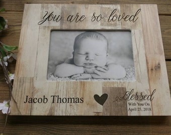 Personalized Baby Picture Frame, Newborn Gift Baby Frame, Personalized Baby Frame, Newborn Baby Gift, Engraved Newborn Gift, Baby Gift