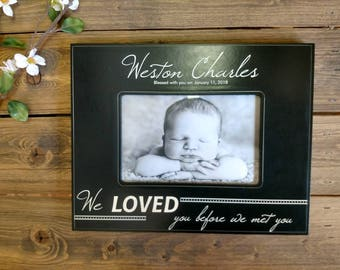 Personalized Baby Picture Frame, Personalized Baby Frame, Newborn Boy Gift, Engraved Newborn Gift, Engraved Baby Gift, Baby Shower Gift