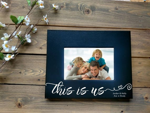 5x7 This Is Us Picture Frame Wedding Day Gift This Is Etsy
