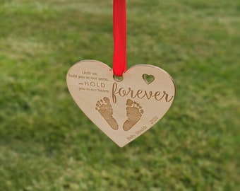 Baby Miscarriage Memorial ornament, Baby Loss Ornament, Baby Loss Gift, Miscarriage Christmas Ornament,baby loss gift,