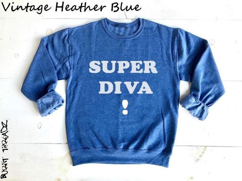 e711173c67c1 SUPER DIVA Ruth Bader Ginsburg. Unisex 50/50 Sweatshirts. | Etsy