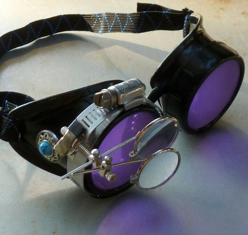 Steampunk Goggles-steampunk costume-accessories Burning Man image 0